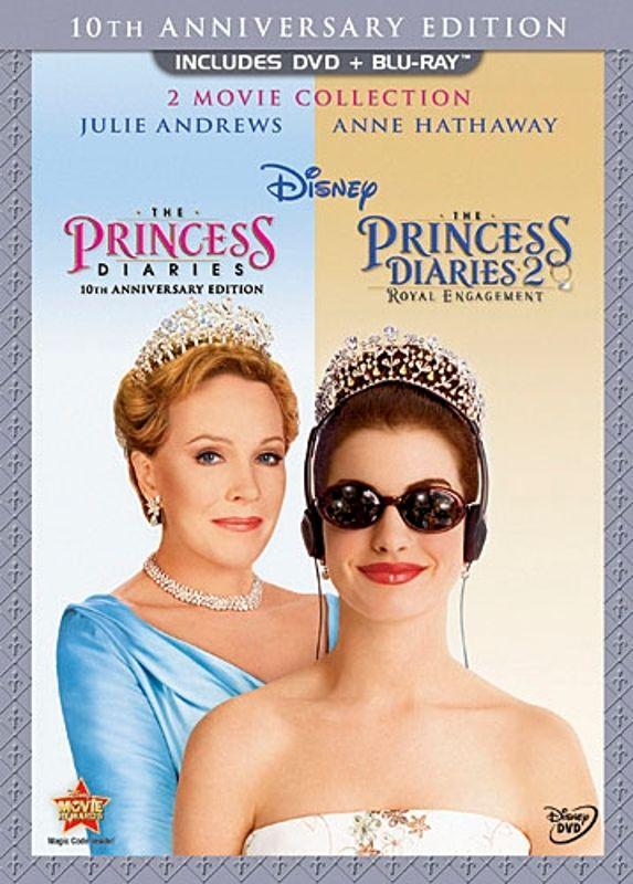 Princess Diaries/Princess Diaries 2: Royal Engagement [2 Discs] [DVD/Blu-ray] [Blu-ray/DVD] 19944305