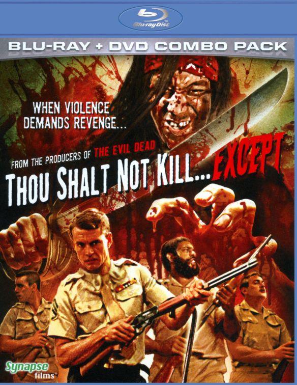 Thou Shalt Not Kill. Except [2 Discs] [Blu-ray/DVD] [1987] 19967096