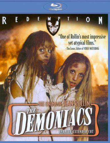 The Demoniacs [Extended Edition] [Blu-ray] [1973] 20024548