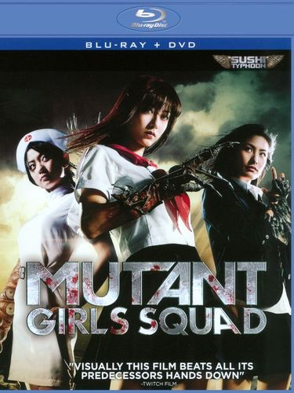 Mutant Girls Squad [2 Discs] [Blu-ray] [2010] 20035996