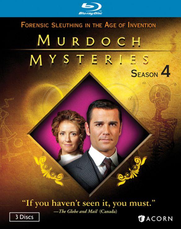 Murdoch Mysteries: Season 4 [3 Discs] [Blu-ray] 20043367