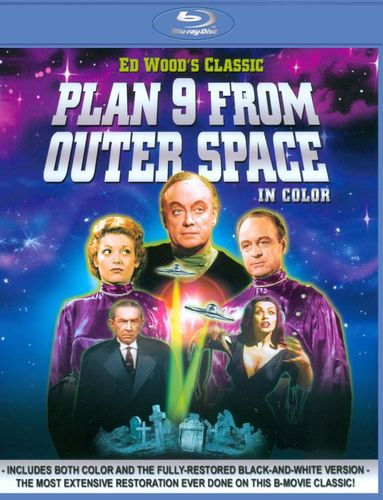 Plan 9 from Outer Space in Color [Color/Black & White] [Blu-ray] [1959] 20048413