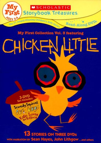 Scholastic Storybook Treasures: My First Collection, Vol. 3 Featuring Chicken Little [3 Discs] [DVD] 20051675