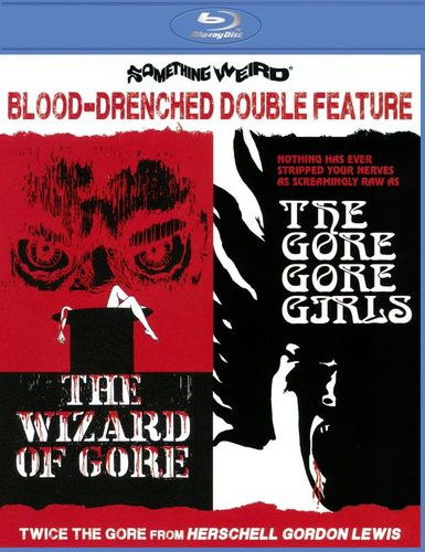Blood-Drenched Double Feature: The Wizard of Gore/The Gore Gore Girls [Blu-ray] 20071123