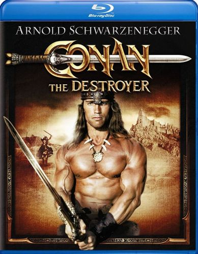 Conan the Destroyer [With Movie Cash] [Blu-ray] [1984] 20072292