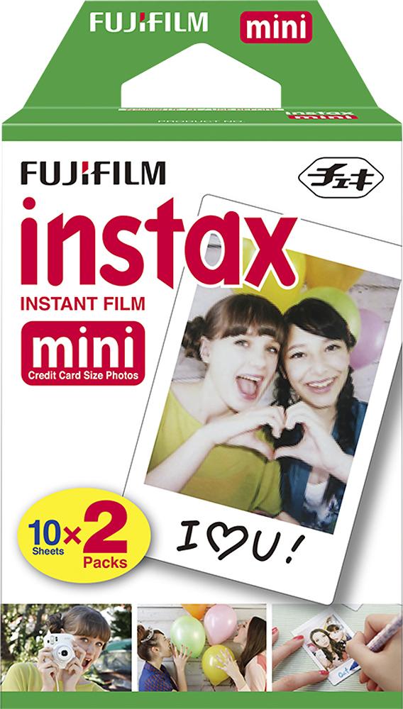 Fujifilm - instax mini Instant Color Film Twin Pack