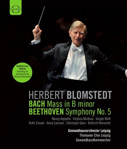 Blomstedt conducts Bach & Beethoven [Blu-Ray Disc] 20295463
