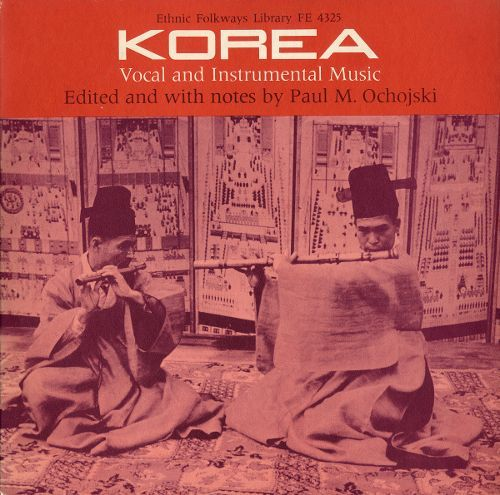 Korea: Vocal and Instrumental Music [CD]