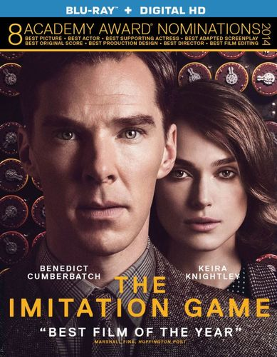 The Imitation Game [Includes Digital Copy] [UltraViolet] [Blu-ray] [2014] 2035013