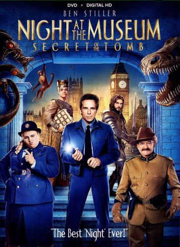 Night at the Museum: Secret of the Tomb [DVD] [2014] 2036003