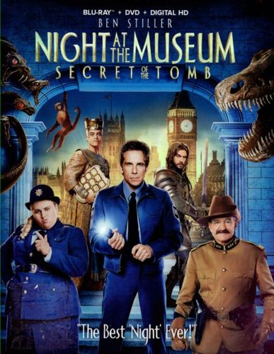 Night at the Museum: Secret of the Tomb [2 Discs] [Includes Digital Copy] [Blu-ray/DVD] [2014] 2036021