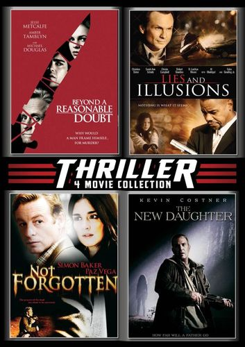 Beyond a Reasonable Doubt/Lies and Illusions/Not Forgotten/The New Daughter [4 Discs] [DVD] 20407671