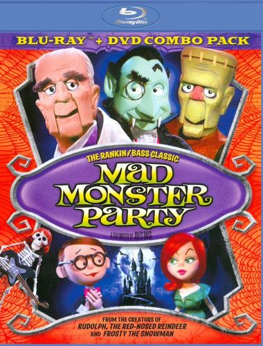 Mad Monster Party [2 Discs] [Blu-ray/DVD] [1968] 20432304