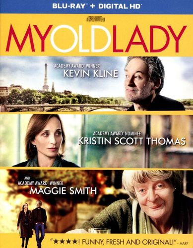 My Old Lady [Includes Digital Copy] [UltraViolet] [Blu-ray] [2014] 2050049