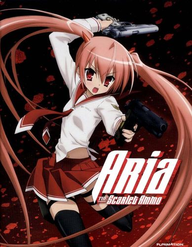 Aria the Scarlet Ammo [4 Discs] [Blu-ray/DVD] 20505627