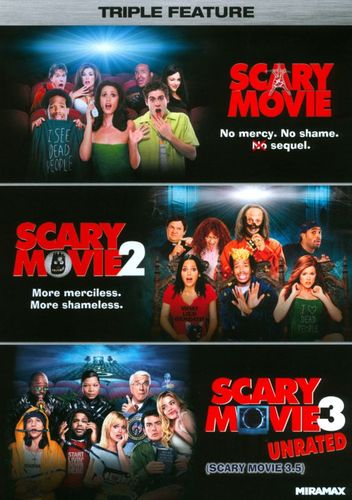 Scary Movie Triple Feature [3 Discs] [DVD] 20531913