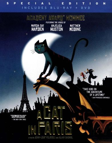 A Cat in Paris [2 Discs] [Blu-ray/DVD] [2010] 20534974