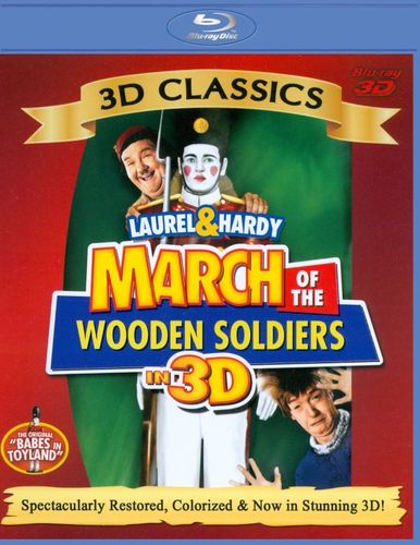 March of the Wooden Soldiers [Blu-ray] [Blu-ray 3D] [1934] 20567104