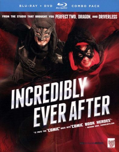 Incredibly Ever After [2 Discs] [Blu-ray/DVD] [2011] 20598707