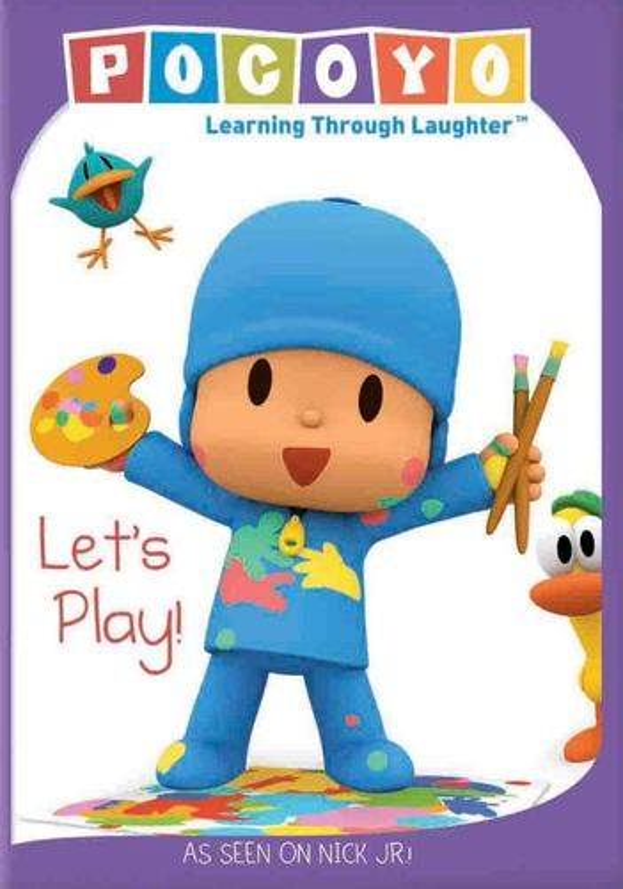 Pocoyo: Let's Play [DVD] 20633046
