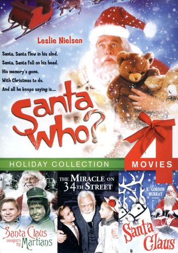 Santa Who?/Santa Claus Conquers the Martians/Santa Claus/Miracle on 34th Street [DVD] 20643743