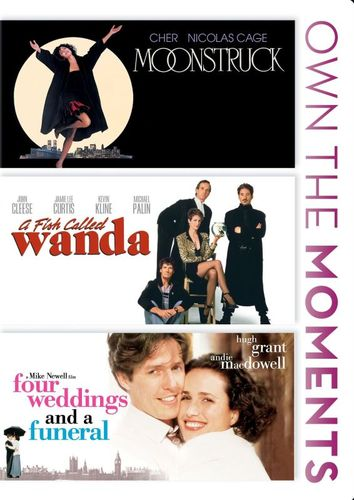 Moonstruck/A Fish Called Wanda/Four Weddings and a Funeral [DVD] 20674346