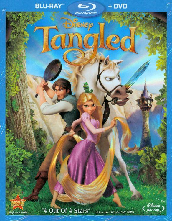 Tangled [2 Discs] [Blu-ray/DVD] [2010] 2068089