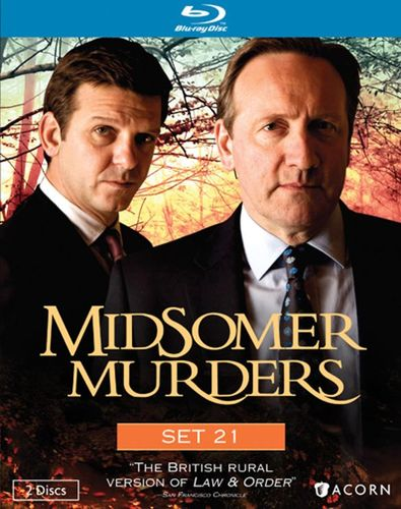 Midsomer Murders: Set 21 [2 Discs] [Blu-ray] 20734432