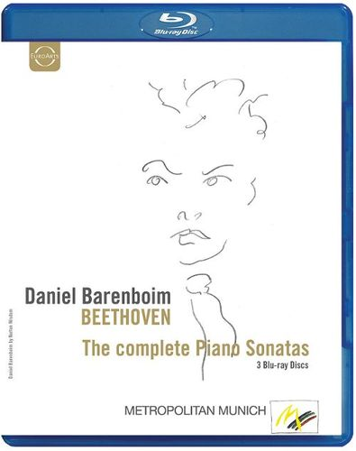 Beethoven: The Complete Piano Sonatas [Video] [Blu-Ray Disc] 20749294