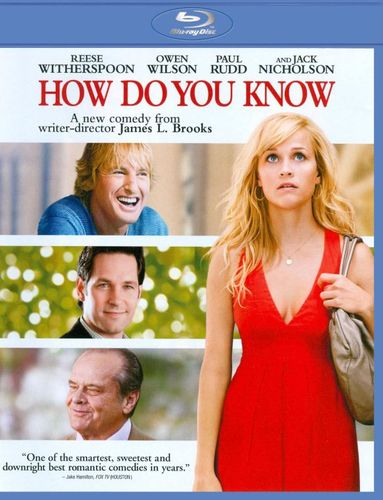 How Do You Know [Blu-ray] [2010] 2077266