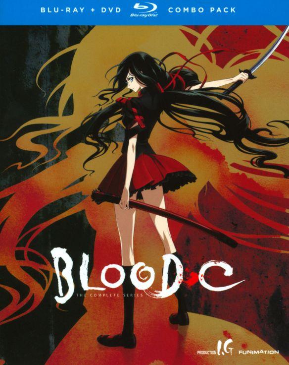 Blood-C: The Complete Series [4 Discs] [DVD/Blu-ray] [Blu-ray/DVD] 20775201