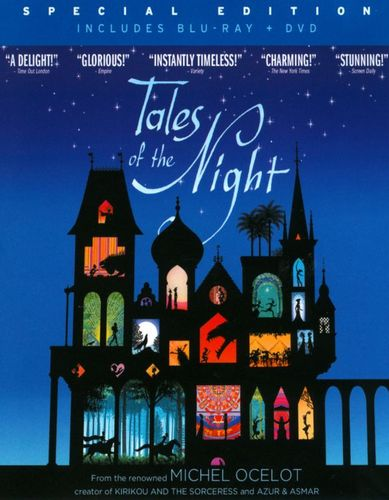 Tales of the Night [2 Discs] [Blu-ray/DVD] [2011] 20800028
