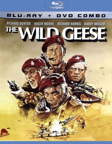The Wild Geese [2 Discs] [Blu-ray/DVD] [1978] 20810034