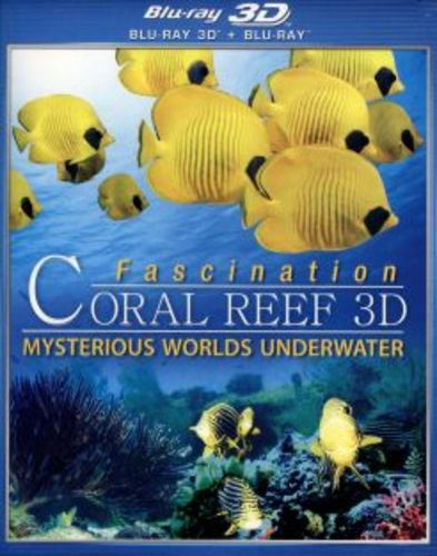 Fascination Coral Reef 3D: Mysterious Worlds Underwater [3D] [Blu-ray] [Blu-ray/Blu-ray 3D] [2013] 20830693