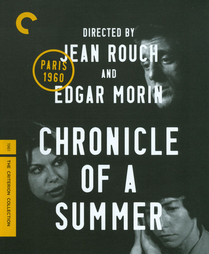 Chronicle of a Summer [Criterion Collection] [Blu-ray] [1960] 20842475