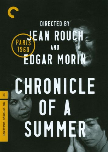 Chronicle of a Summer [Criterion Collection] [DVD] [1960] 20842484