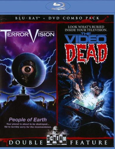 TerrorVision/The Video Dead [2 Discs] [DVD/Blu-ray] [Blu-ray/DVD] 20845524