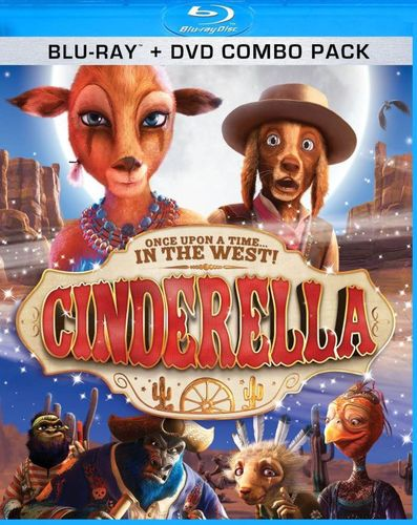 Cinderella [2 Discs] [Blu-ray/DVD] [2010] 20919195