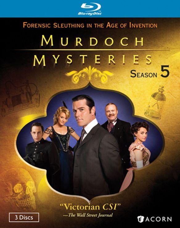 Murdoch Mysteries: Season 5 [3 Discs] [Blu-ray] 20926362