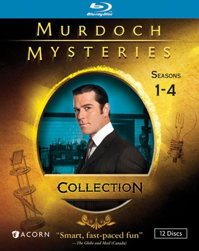 Murdoch Mysteries Collection: Seasons 1-4 [12 Discs] [Blu-ray] 20926399