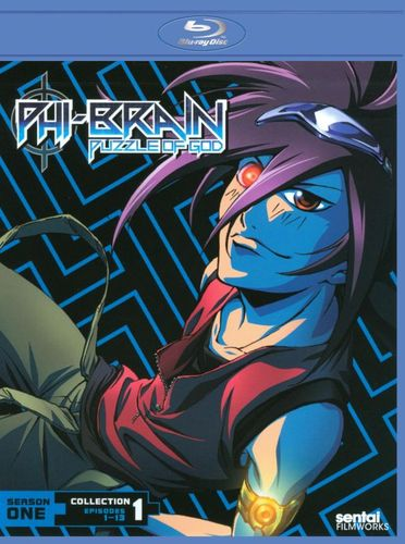 Phi Brain: Puzzle of God - Collection 1 [2 Discs] [Blu-ray] 20927079