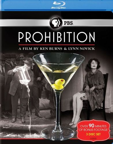 Prohibition: A Film by Ken Burns & Lynn Novick [3 Discs] [Blu-ray] 20928733