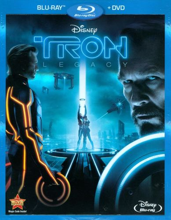 Tron: Legacy [2 Discs] [Blu-ray/DVD] [2010] 2093093