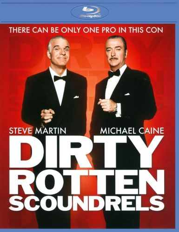 Dirty Rotten Scoundrels [Blu-ray] [1988] 2095008