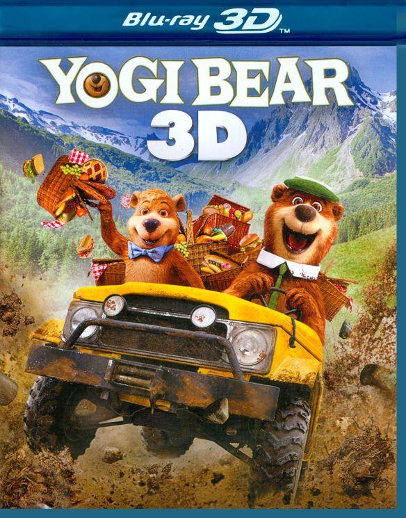 Yogi Bear 3D [3 Discs] [Includes Digital Copy] [3D] [Blu-ray/DVD] [Blu-ray/Blu-ray 3D/DVD] [2010] 2095338