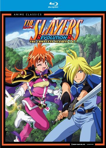 The Slayers: Revolution-R - The Complete Seasons 4 & 5 [4 Discs] [Blu-ray] 20968075