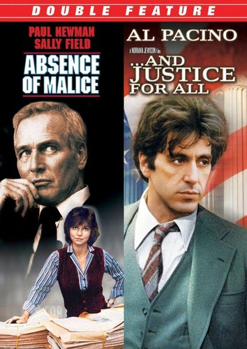 Absence of Malice/And Justice for All [2 Discs] [DVD] 20999784