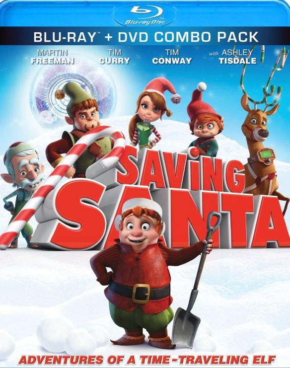 Saving Santa [Blu-ray] [2013] 2104043