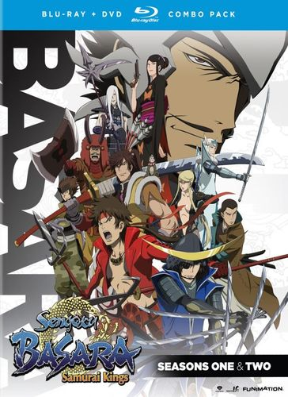 Sengoku Basara: Seasons 1 & 2 [8 Discs] [Blu-ray/DVD] 21095839