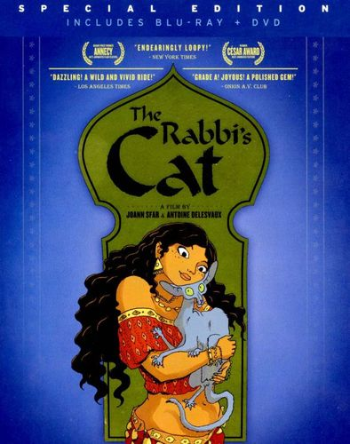 The Rabbi's Cat [2 Discs] [Blu-ray/DVD] [2011] 21163145